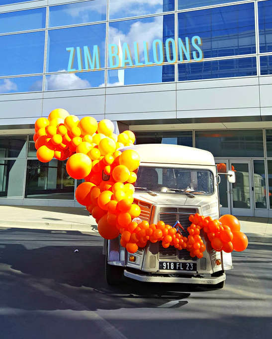 The Duke Truck Party Balloon Garland Zim Balloons.jpg