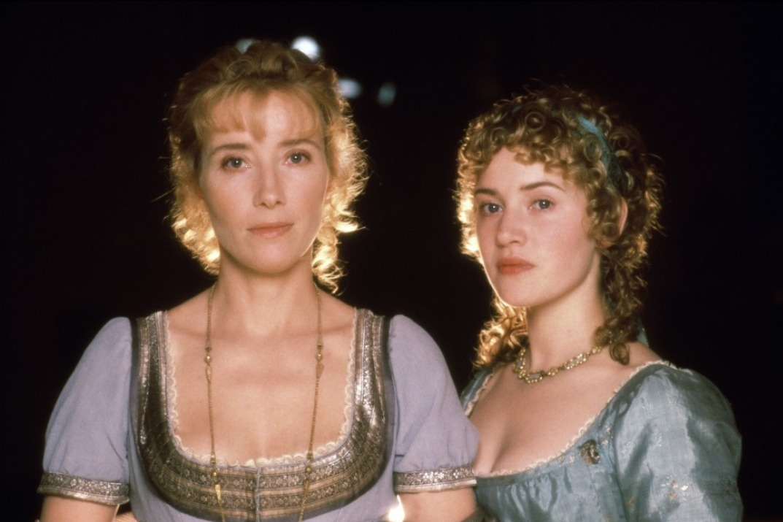 Emma Thompson & Kate Winslet in  Sense & Sensibility  (1995), Columbia Pictures.