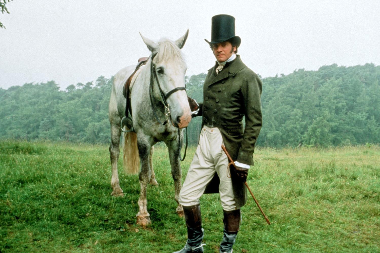 Colin Firth in  Pride & Prejudice  (1995) BBC TV.