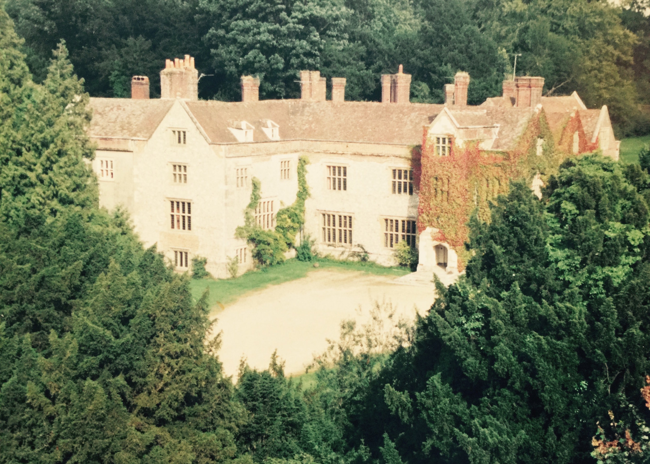Chawton House in 1980s   © Jane Austen Literacy Foundation. All Rights Reserved.