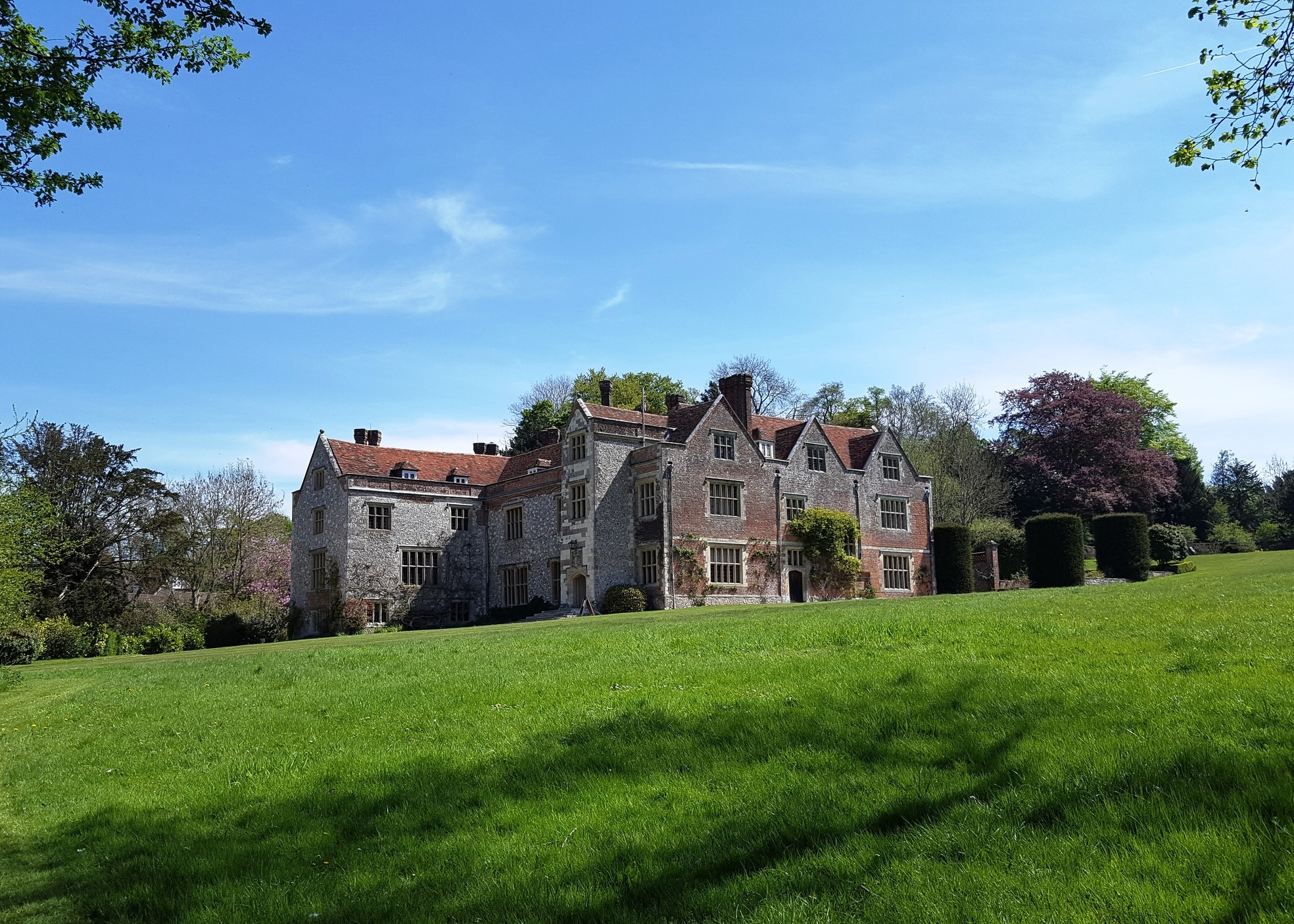Chawton House as it stands today.  © Jane Austen Literacy Foundation. All Rights Reserved.