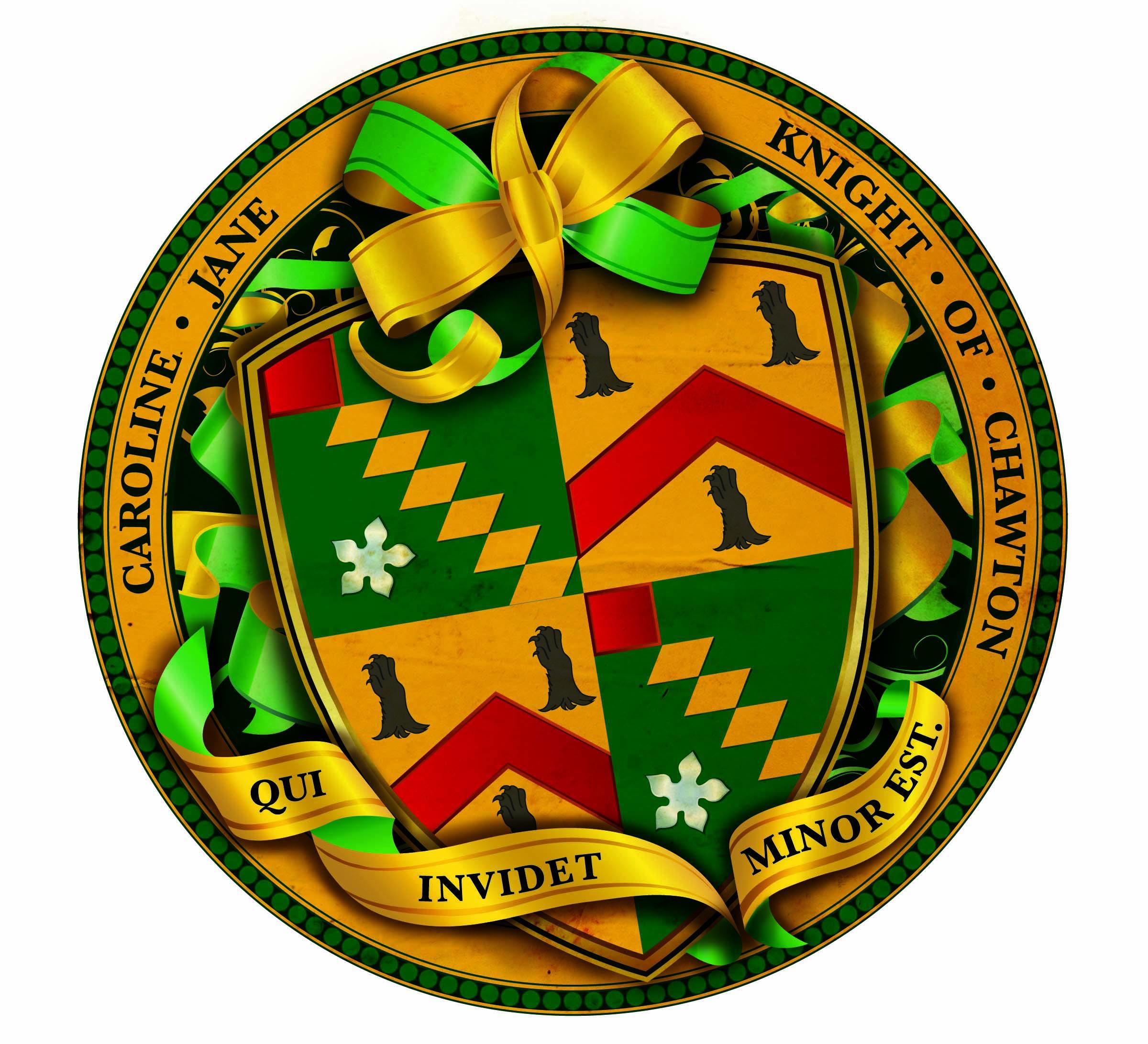 Caroline Jane Knight's heraldry  © Caroline Jane Knight