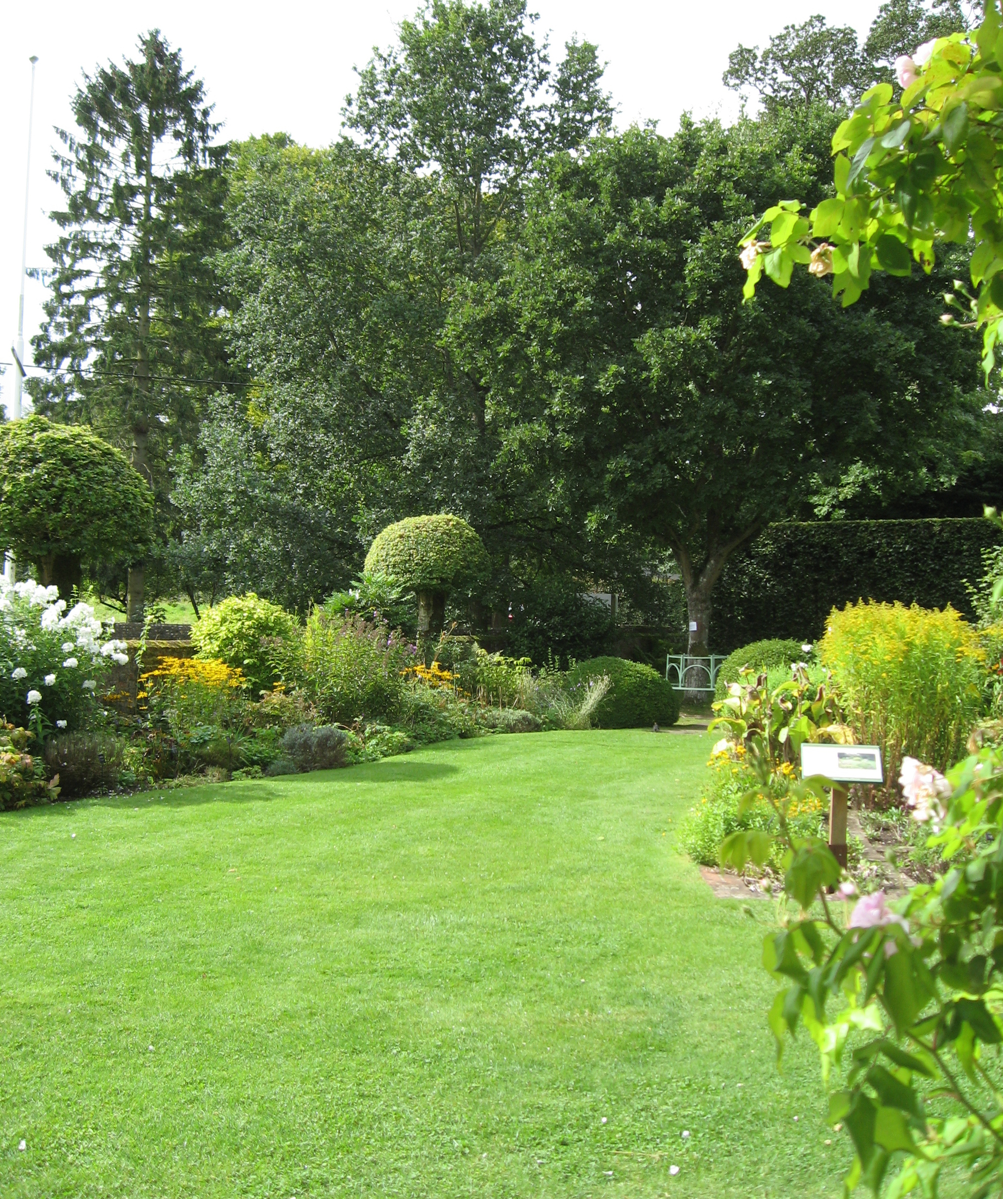 The garden at Chawton Cottage.  Credit: Sue Wilkes