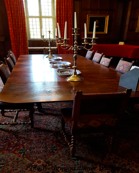 The dining table at Chawton House