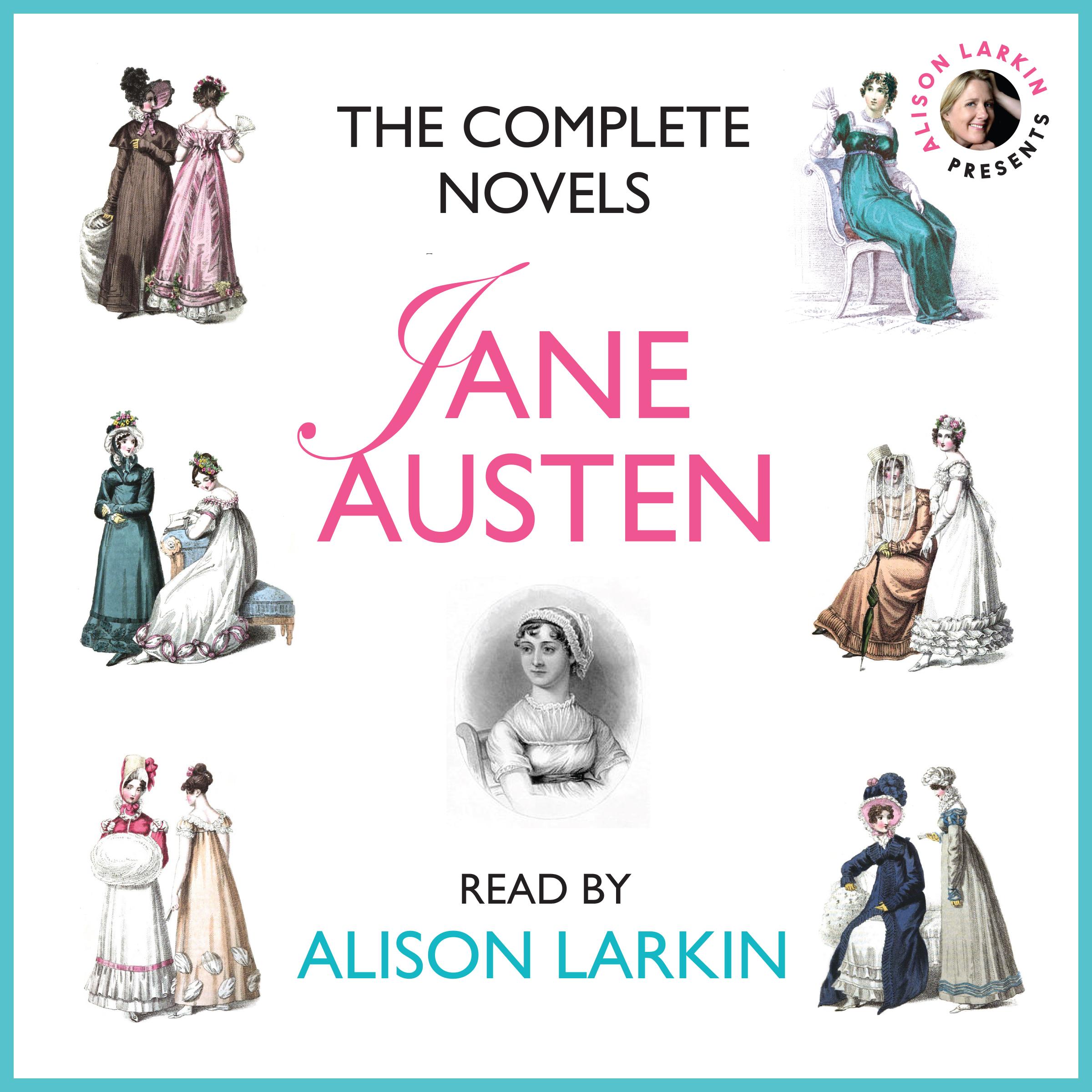 The complete novels of Jane Austen audiobook.jpg
