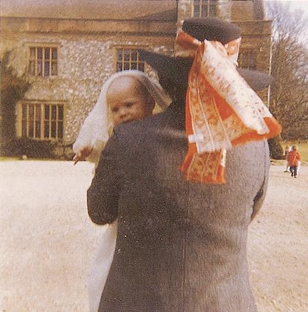 Caroline as a baby.  Credit: Caroline Jane Knight.