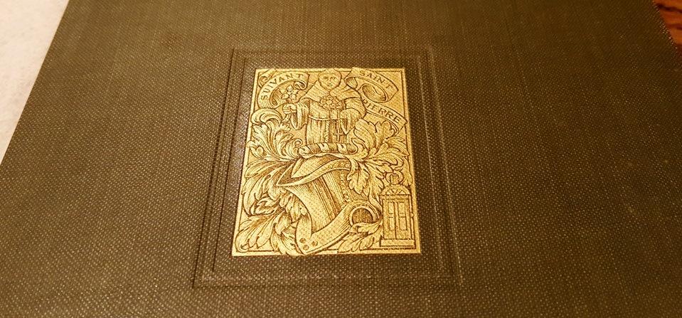Montagu Knight's book.  Credit: Julia B. Grantham