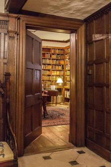 The library at Chawton House.  Credit: Chawton House.