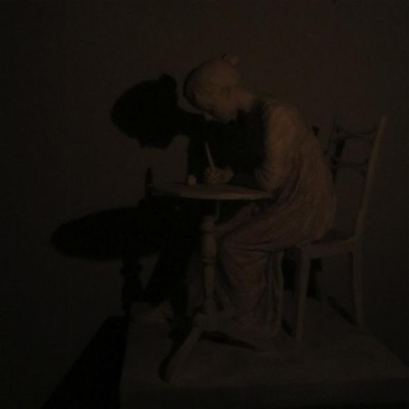 Jane in shadow.  Credit: Robert Truscott