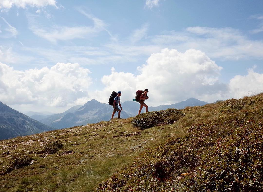 """""""We love being outdoors, so hiking is part of our daily lives."""""""