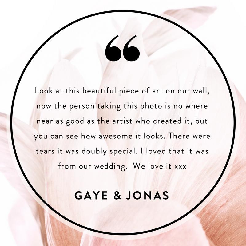Gaye & Jonas   Bouquet recreation (birthday gift). Posy of magenta gerberas