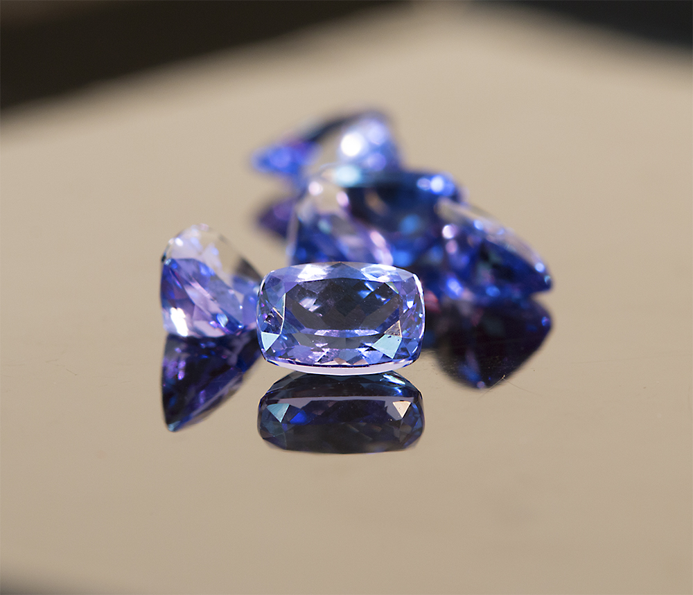 Tanzanite double A group shot 8 black background.jpg