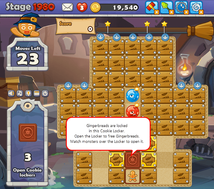 Open all the Cookie Lockers to free Gingerbreads..png