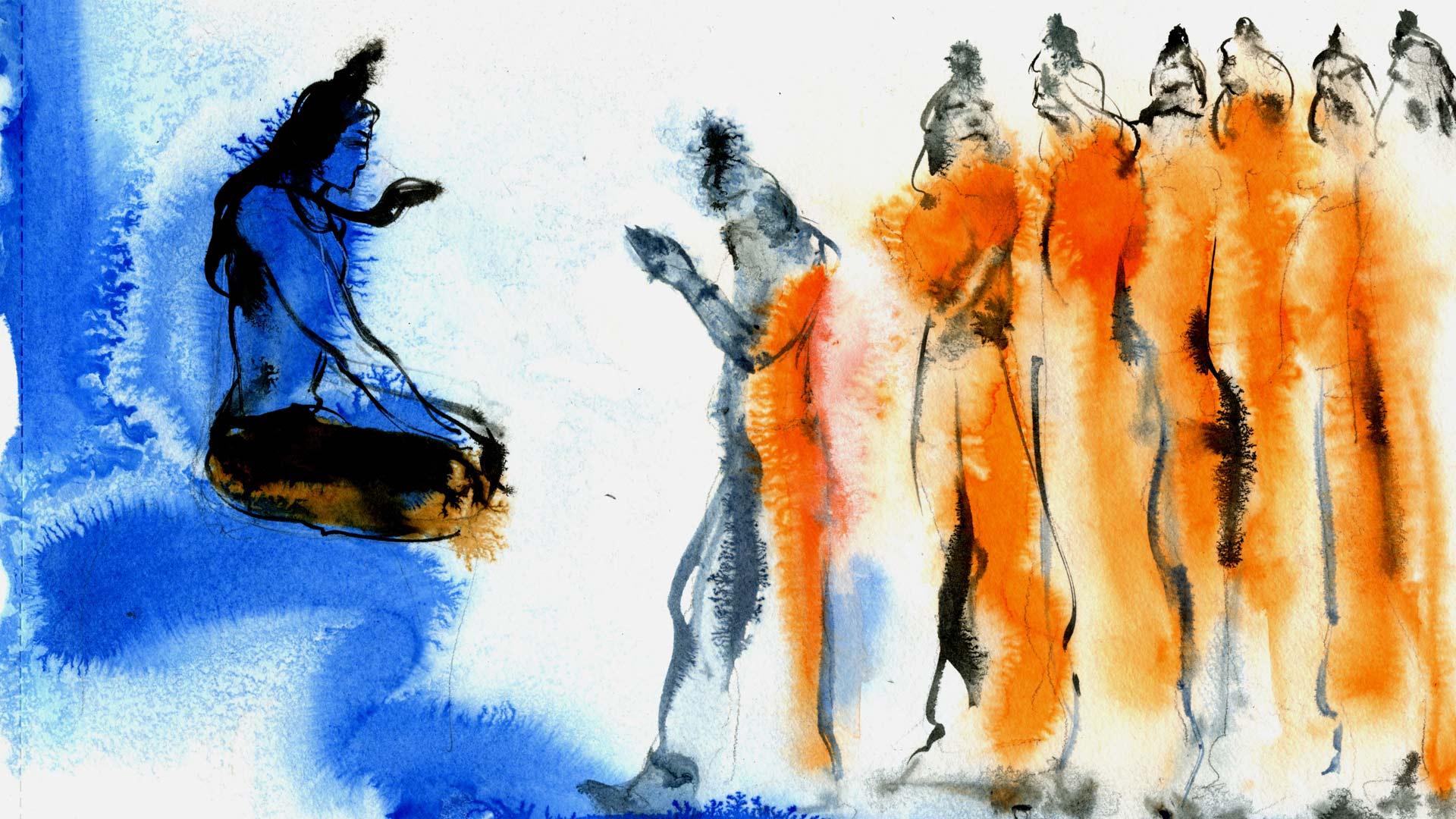 guru purnima: giving thanks to teachers