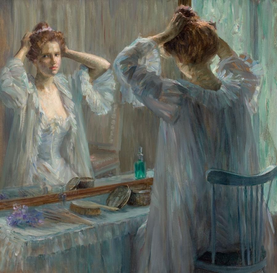 'La Toilette' by Louise Catherine Breslau