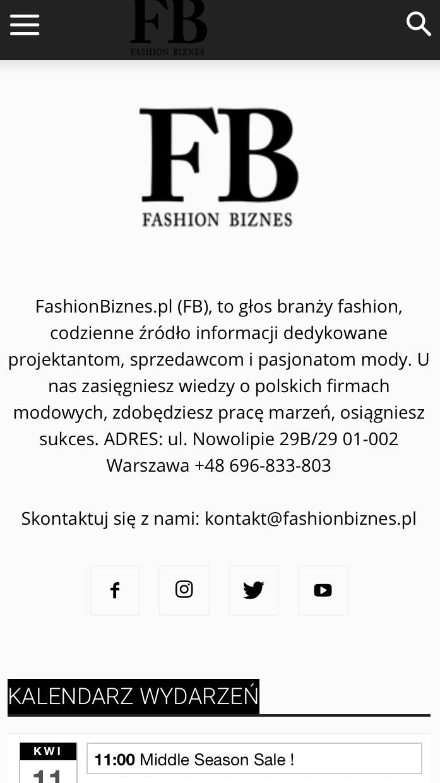 Fashion Biznes