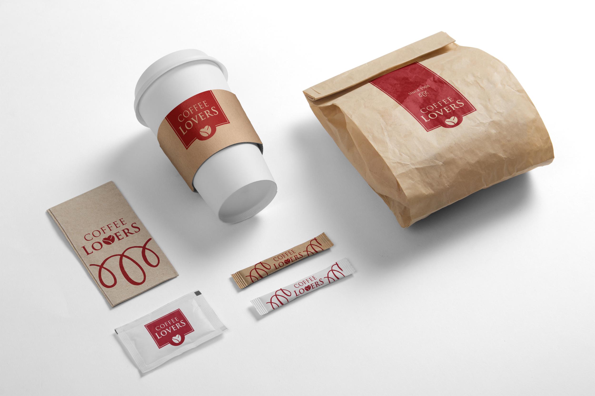 Coffee Lovers Branding Packaging