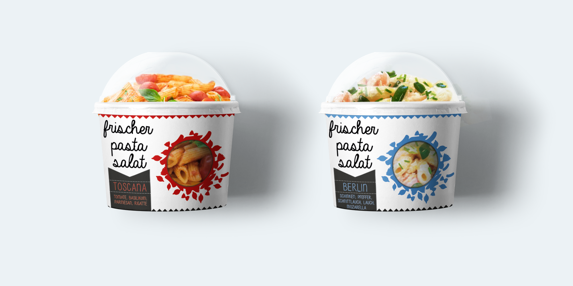 Pasta Salat Branding Packaging