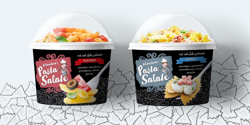 Popp Pastasalat Packaging