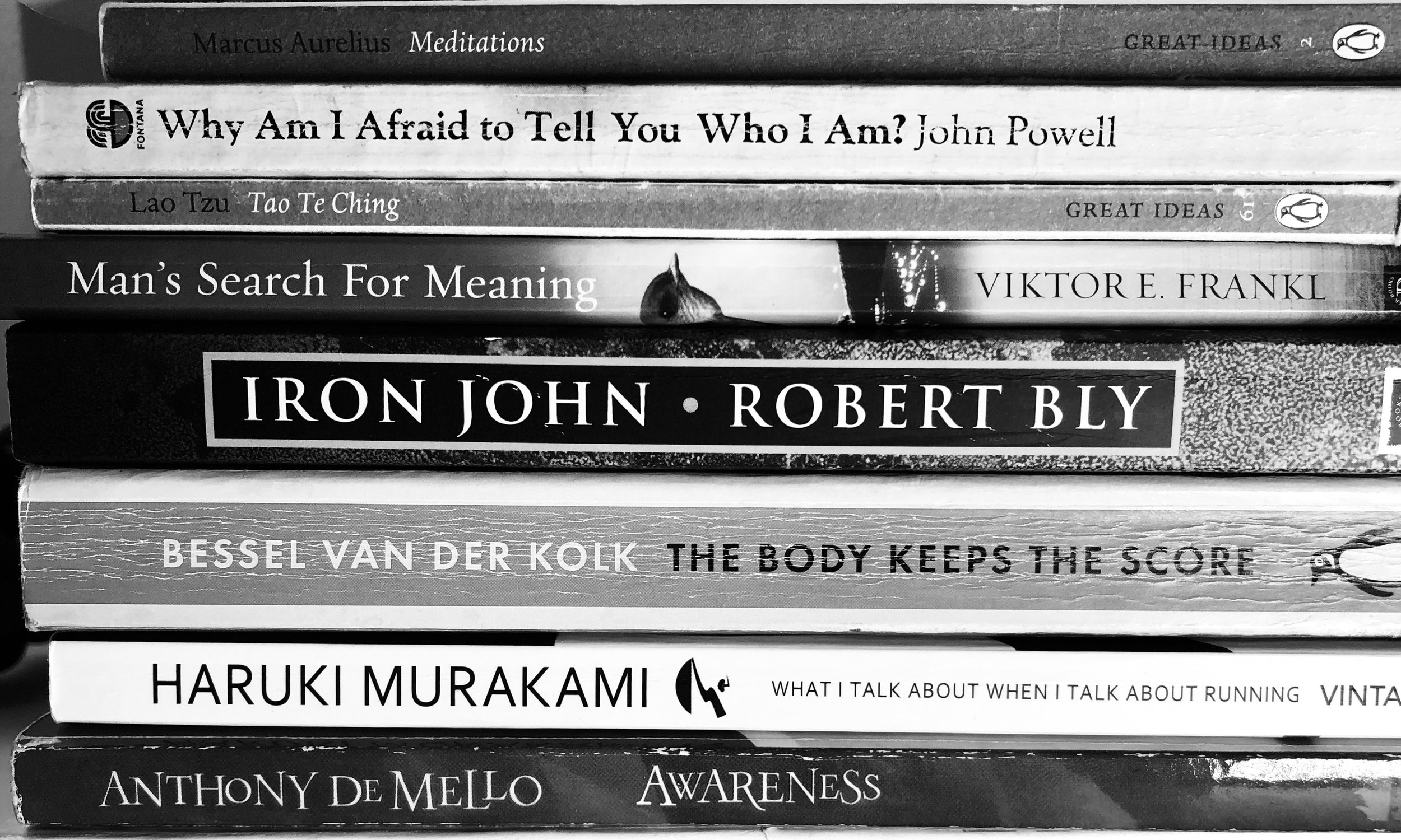 A list of helpful books for dealing with depression and anxiety. By Kevin Braddock -