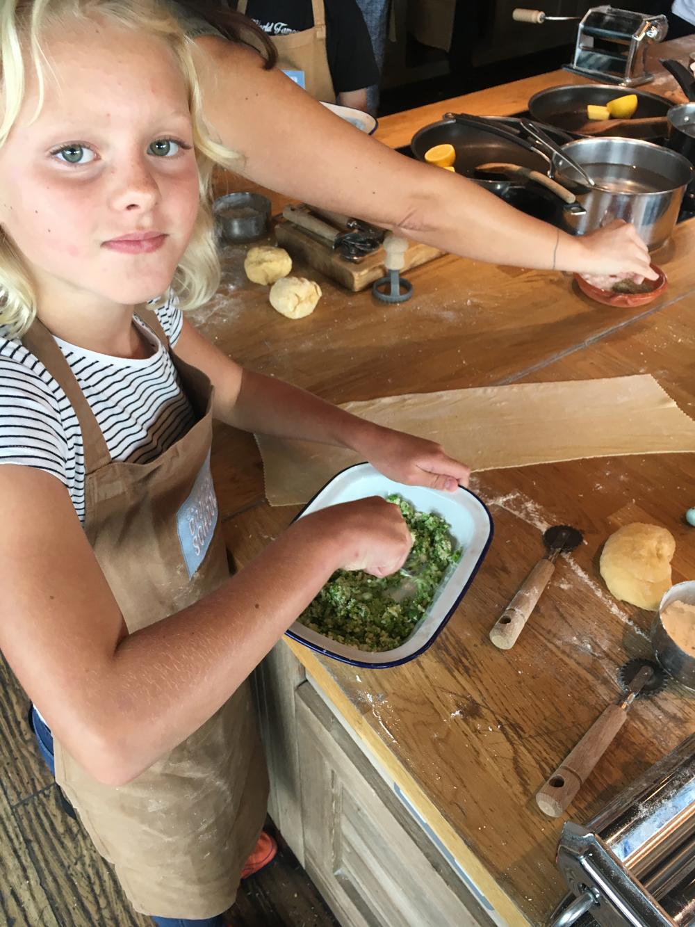 confident Helena in the kitchen .JPG
