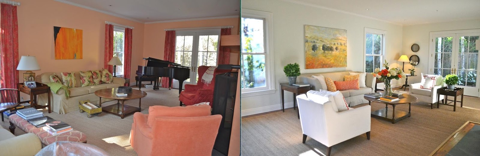 Lighter and brighter furniture can make a big difference, as can removing curtains and exposing windows
