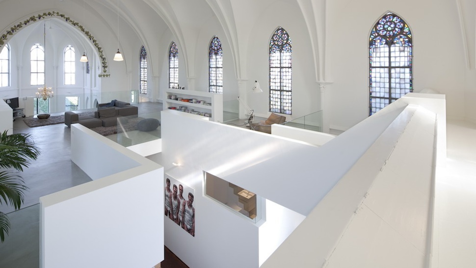 No building can blend modern and traditional in quite the same way as a converted church.
