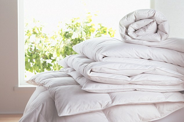 The His and Hers duvet from  Southdown Duvets  is just what you and your partner need for a restful night's sleep.