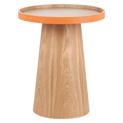 3) Habitat Brodi Side Table    This clever bit of furniture is not only a side table, but the top lifts up to become a tray, revealing another surface underneath. Perfect for perching your tea and biscuit on and containing any crumbs. A great multi-tasker and the vibrant orange will brighten up any space.