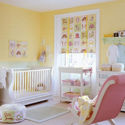 Pink and yellow work well too. A happy room.   Photo: housetohome.co.uk