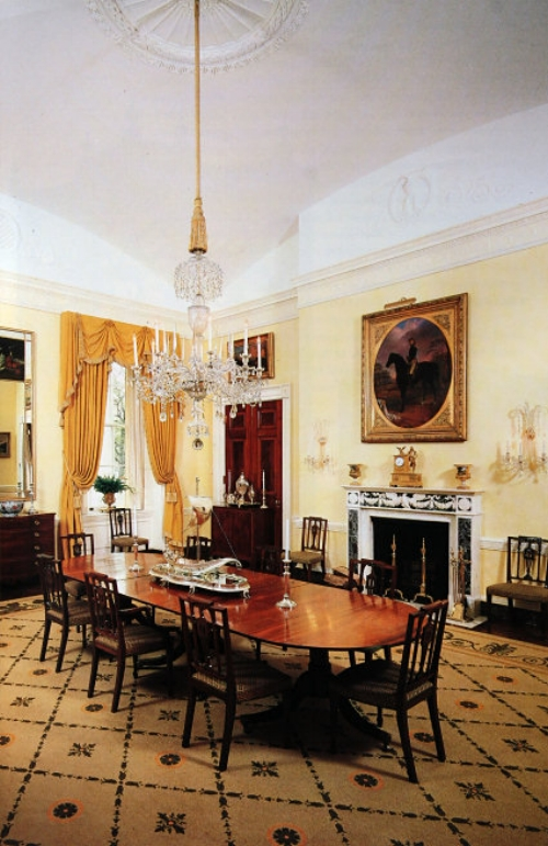 When Bill Clinton was president, Hillary loved decorating with yellow.   Photo: whitehousemuseum.org