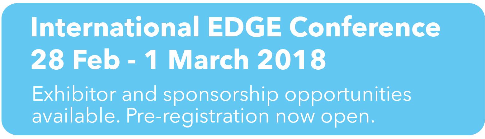 International EDGE conference 2018