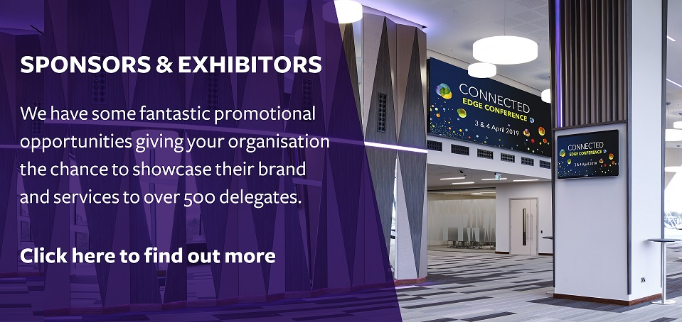EDGE conference sponsor banner