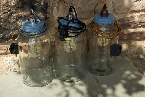 kilner jar led lights