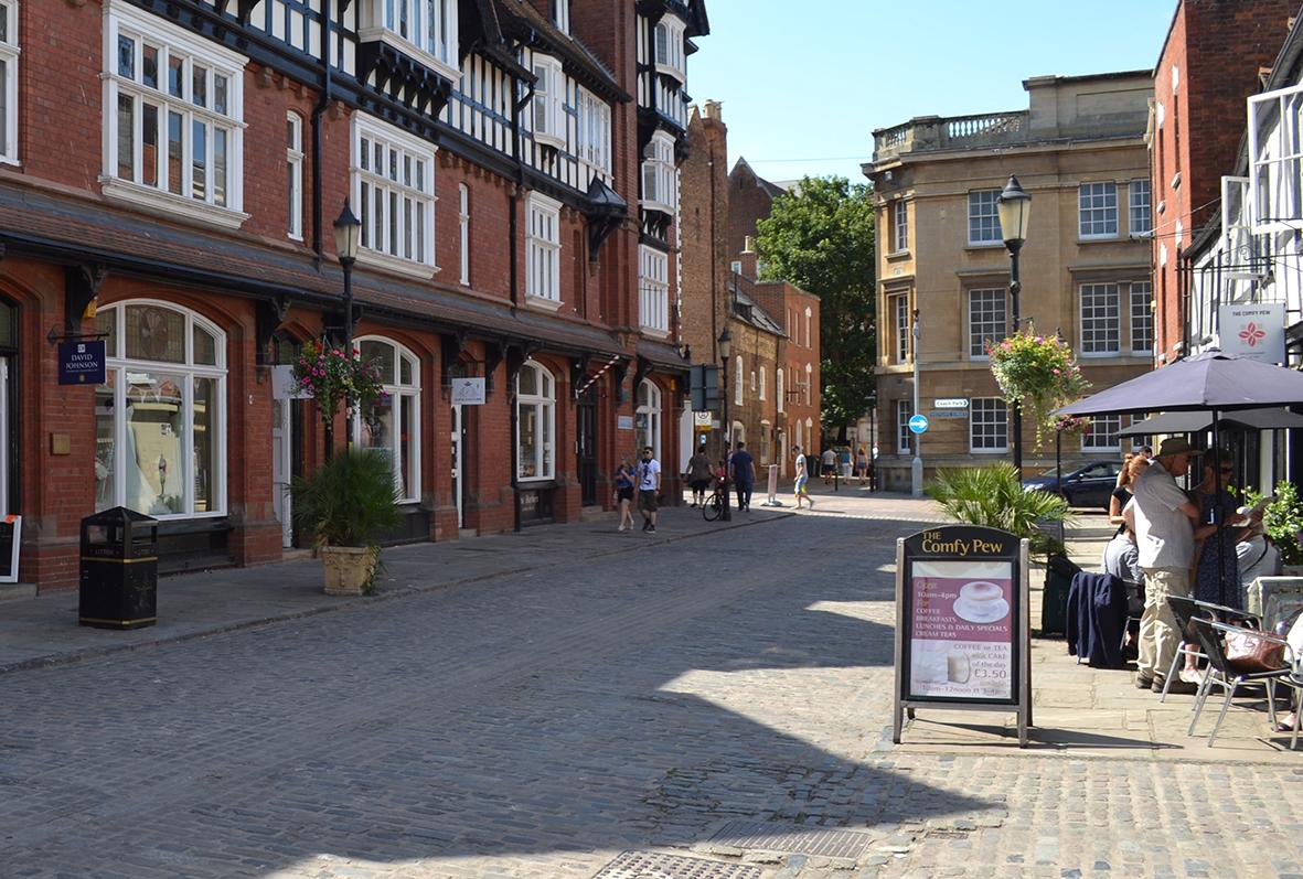 New Location College Street Gloucester