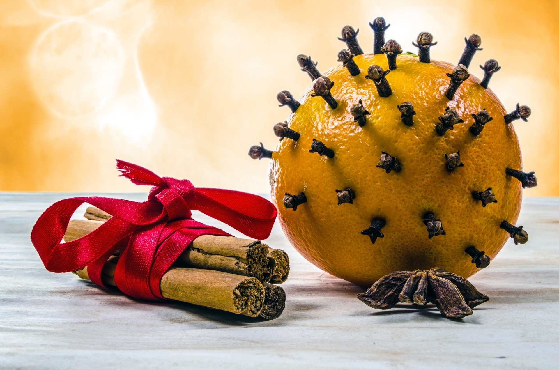Seasonal Cinnamon, Orange & Clove