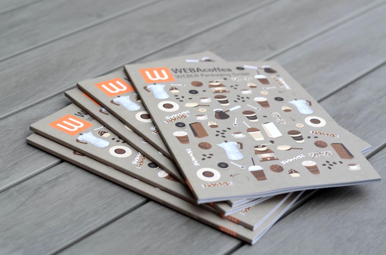 Der neue WEBAcoffea Katalog ist da! Foto: Marina Brockhoff für die © WEBER Packaging GmbH, 2016