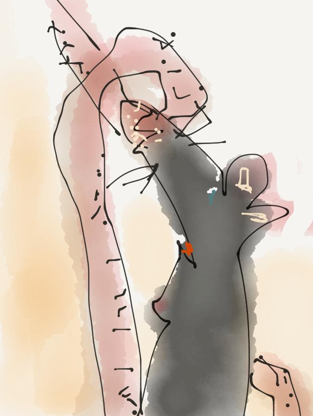 Spielen wir Mäuschen... Illustration: © Ingo H. Klett, 2017