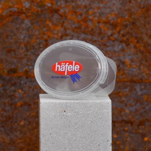 Elitocup  | transparente Folie und weiß hinterlegt
