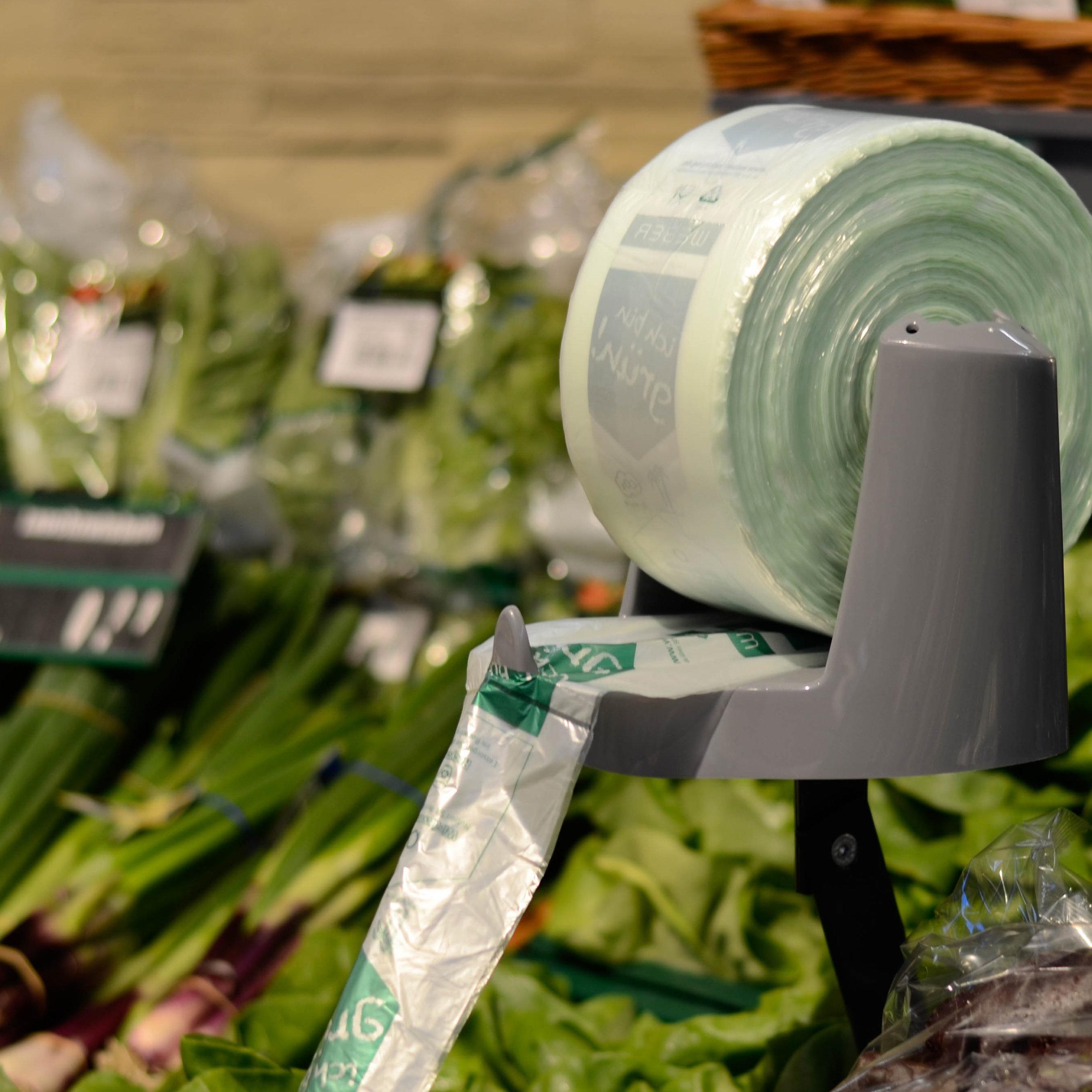 WEBA pouch  Unser Konzept für Ihre Obst- und Gemüsetheke in zahlreichen Materialien und Ausführungen.