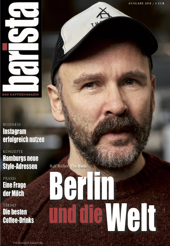 Cover: © barista DAS KAFFEEMAGAZIN , 2018