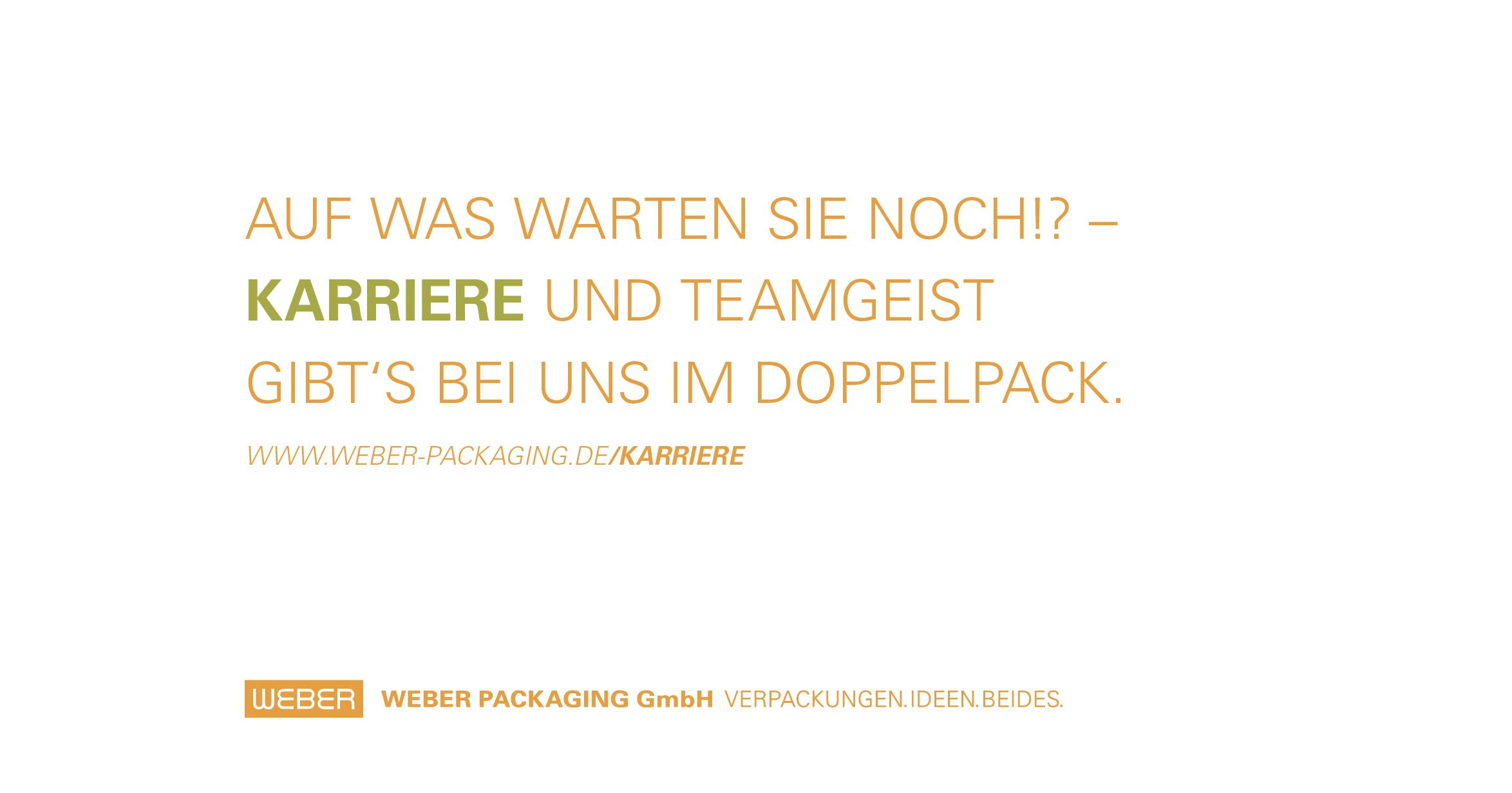 Grafik: © WEBER Packaging GmbH, 2019