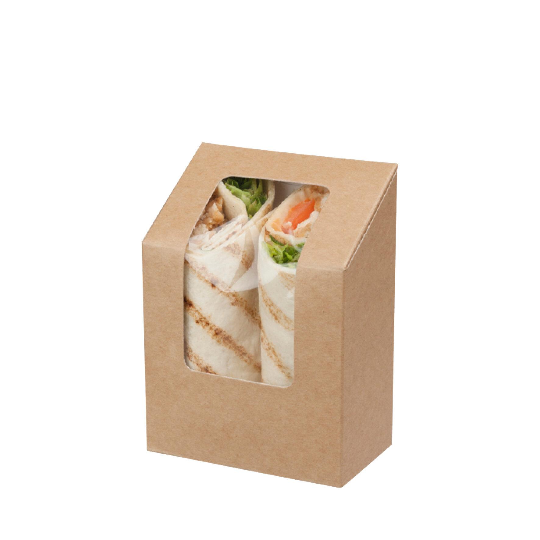 WEBAbox  Wrap Box  mit Zellglas-Sichtfenster    Faltbox, Monomaterial (Holz), kompostierbar