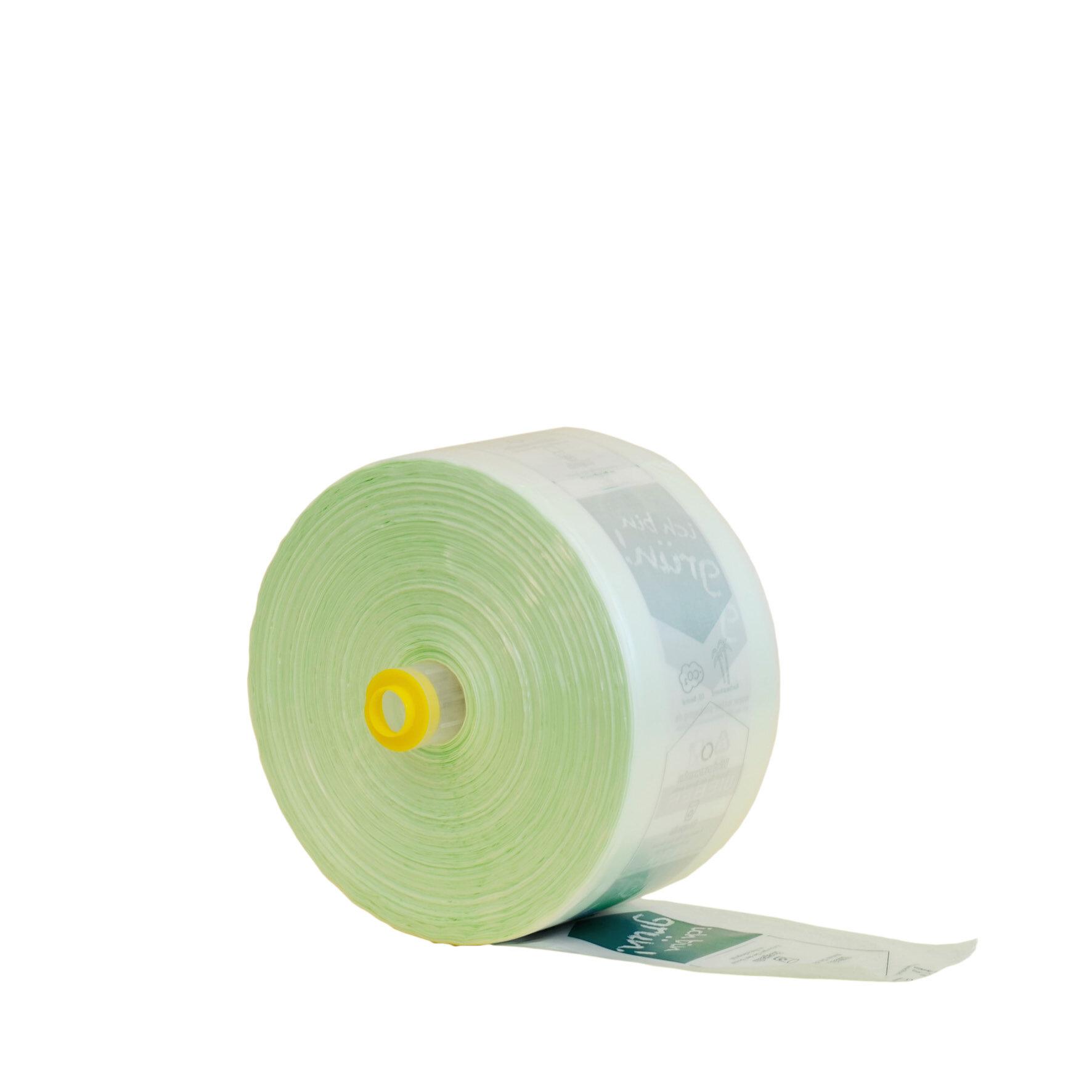 WEBApouch  Obstbeutel aus HDPE aus Zuckerrohr    individuell bedruckbar, recyclebar (HDPE), Sternschweißung ohne Henkel