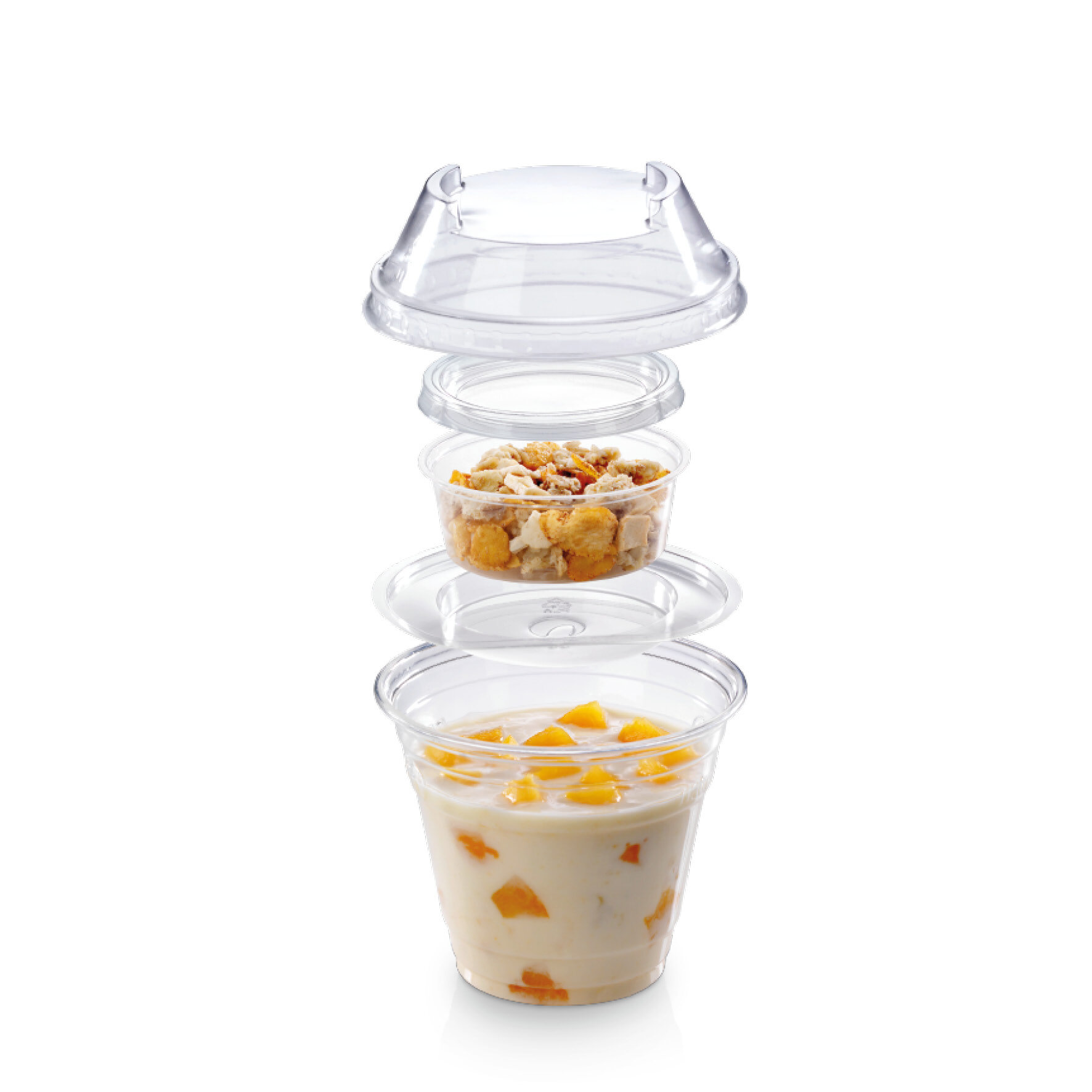 WEBAcup  Clear Cup aus PLA    industriell kompostierbar