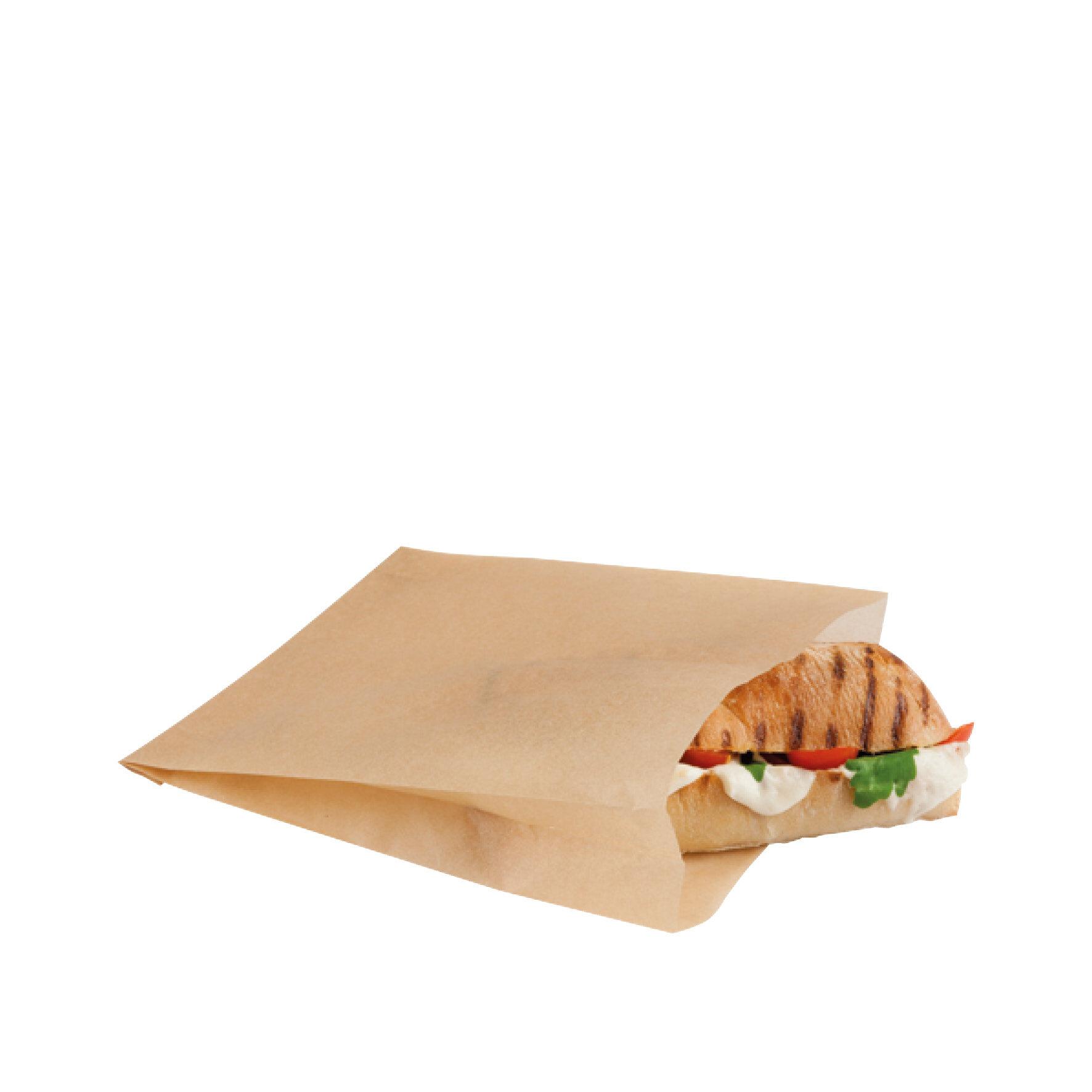 WEBAbag  Grillbeutel Kraft    geeignet für Kontaktgrill, Mikrowelle und Backofen, bis +220°C, individuell bedruckbar, Brot bekommt Grillstreifen ohne Kontakt zur Grillplatte