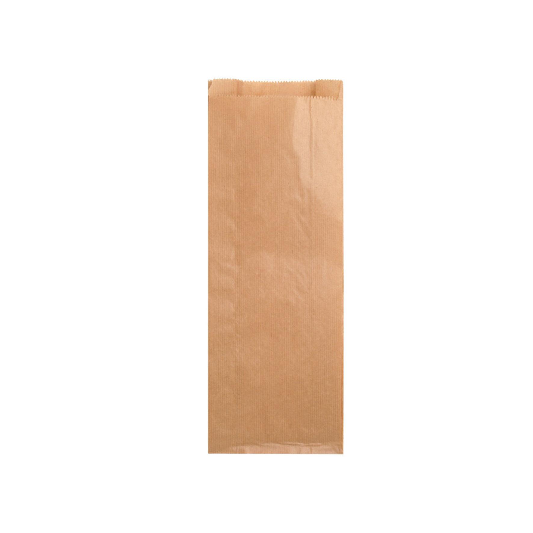 WEBAbag Metzgerfaltenbeutel und Bäckerfaltenebutel aus Kraftpapier    individuell bedruckbar, kompostierbar