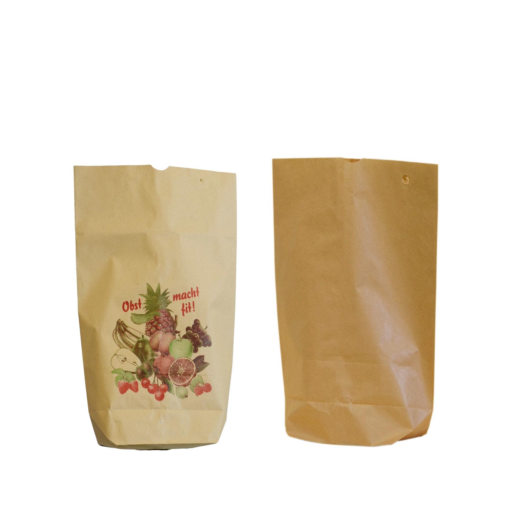 WEBAbag  Kreuzbodenbeutel  aus Kraftpapier    kompostierbar, Neutraldruck und ohne Druck