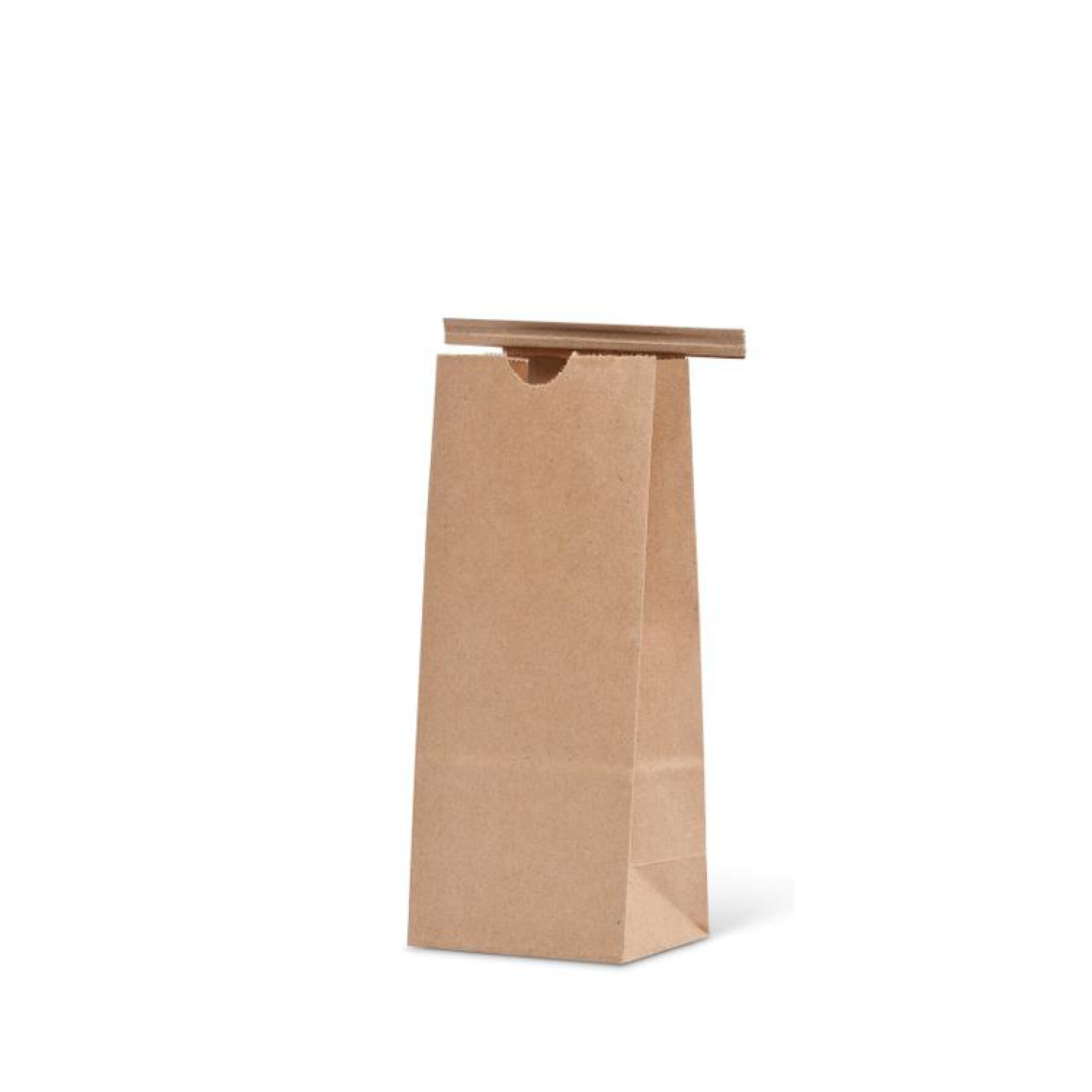 WEBAbag  Drahtclipbeutel  aus Kraftpapier    individuell bedruckbar, kompostierbar (Drahtclip muss entfernt werden)