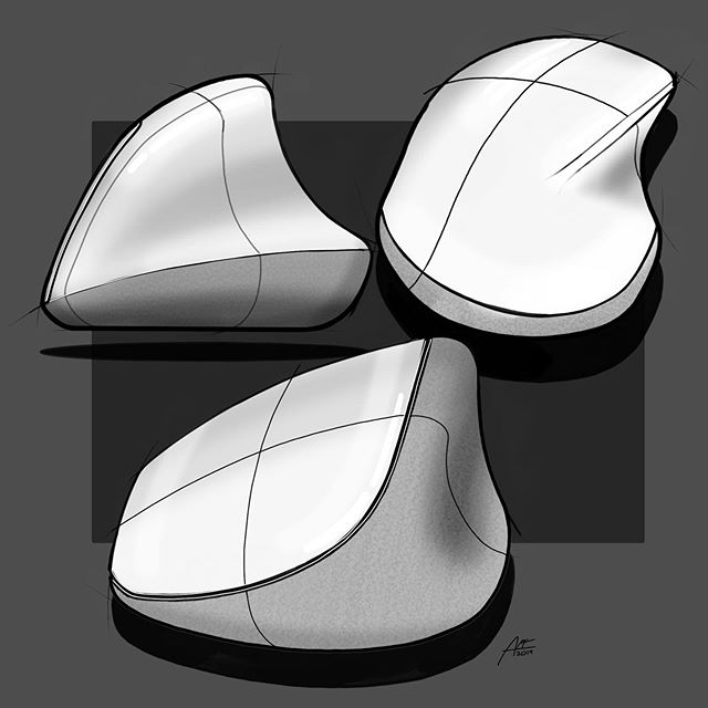 If my Magic Mouse fitted into a shell that was actually comfortable to hold. . Sketched in @autodesksketchbook. . #sketchdaily #sketching #instasketch #productdesign #industrialdesign #produktdesign #dailysketch #productsketch #id #idsketching #idsketches #idsketch #sketch #sketches #designinspiration #product #ideation #sketchbook #art #instagood  @industrialdesigncommunity @everydaydesignuk @wirebook @sketch.archive @idsketchesofficial @rotioofficial
